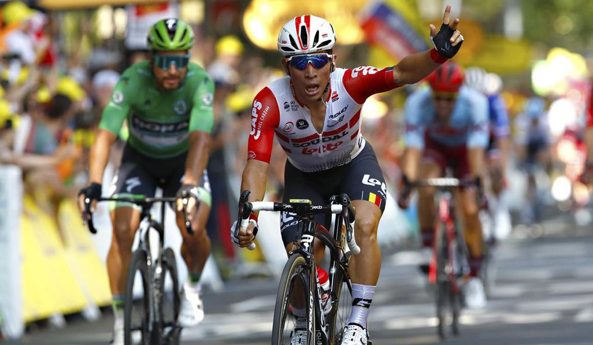 Caleb Ewan gana en Toulouse en la antesala de los Pirineos