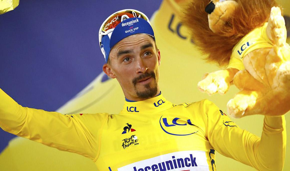 """Alaphilippe: """"Voy a darlo todo para defender el maillot amarillo"""""""
