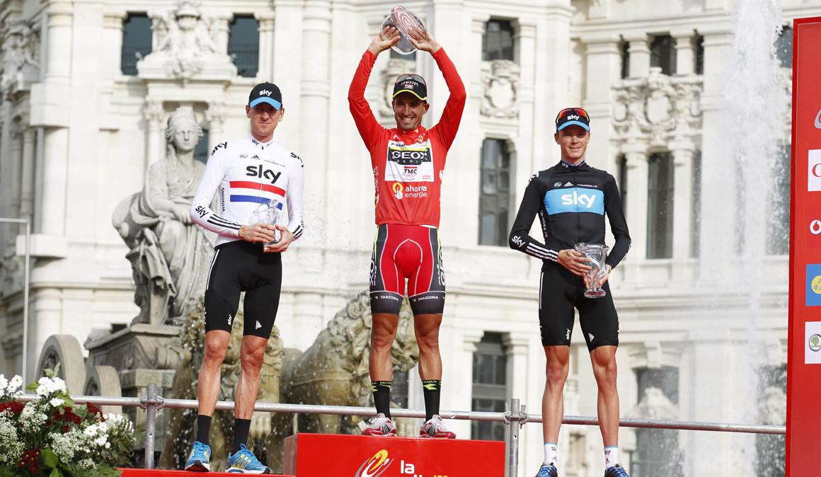Ya es oficial: Chris Froome, ganador de la Vuelta a España 2011
