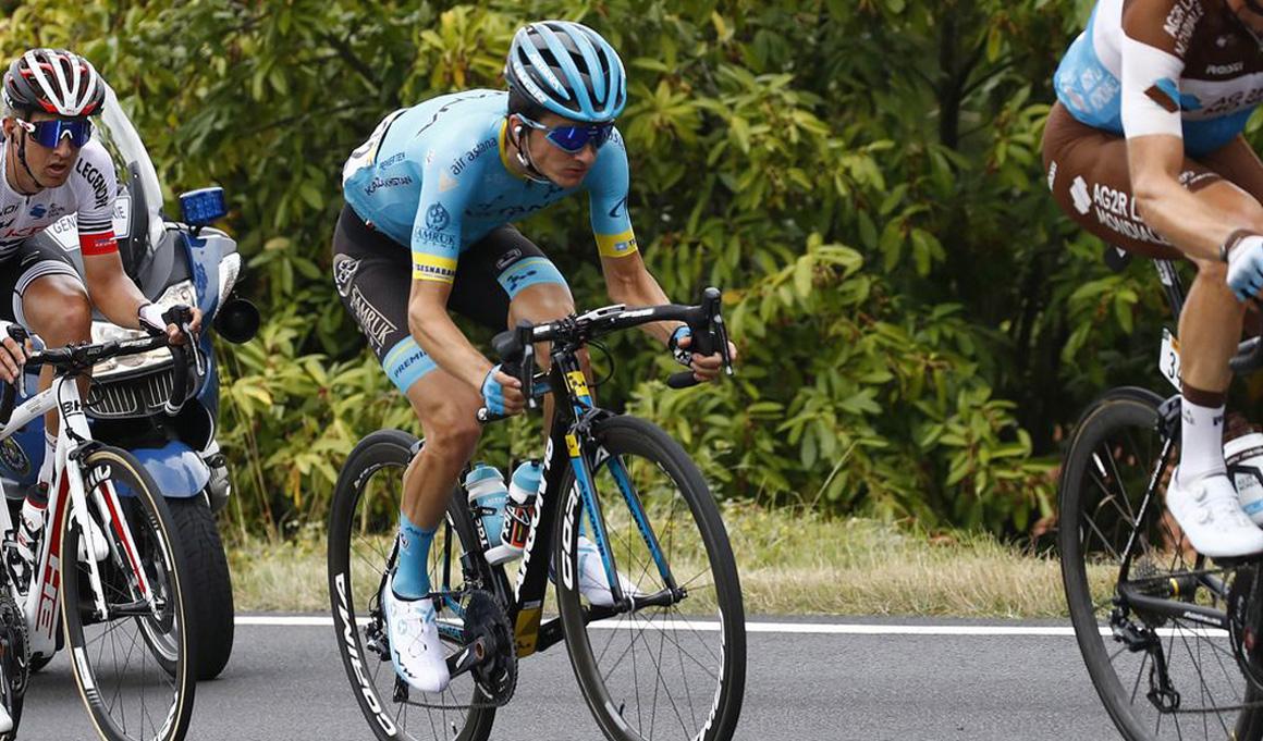 "Pello Bilbao: ""No tenía piernas para un sprint largo, me faltó chispa"""