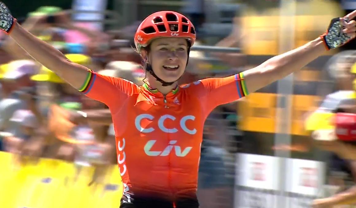 Explosiva victoria de Marianne Vos en La Course by le Tour