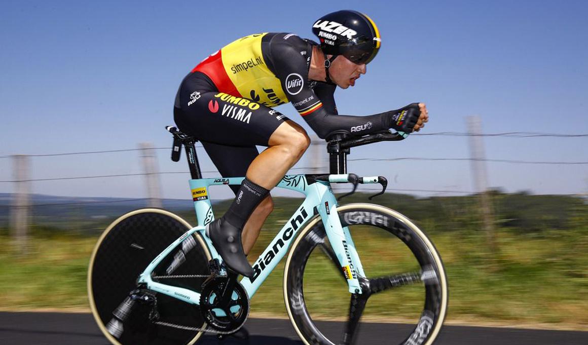 Wout Van Aert abandona el Tour con un profundo corte en su pierna derecha