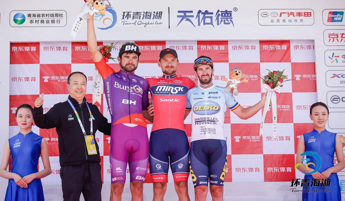 Dani López, segundo en la 9ª etapa del Tour de Qinghai Lake