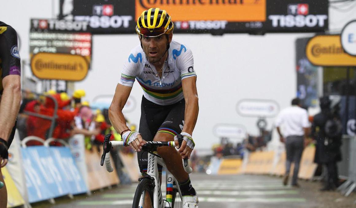"""Alejandro Valverde: """"Los Alpes son durísimos y Mikel es luchador"""""""