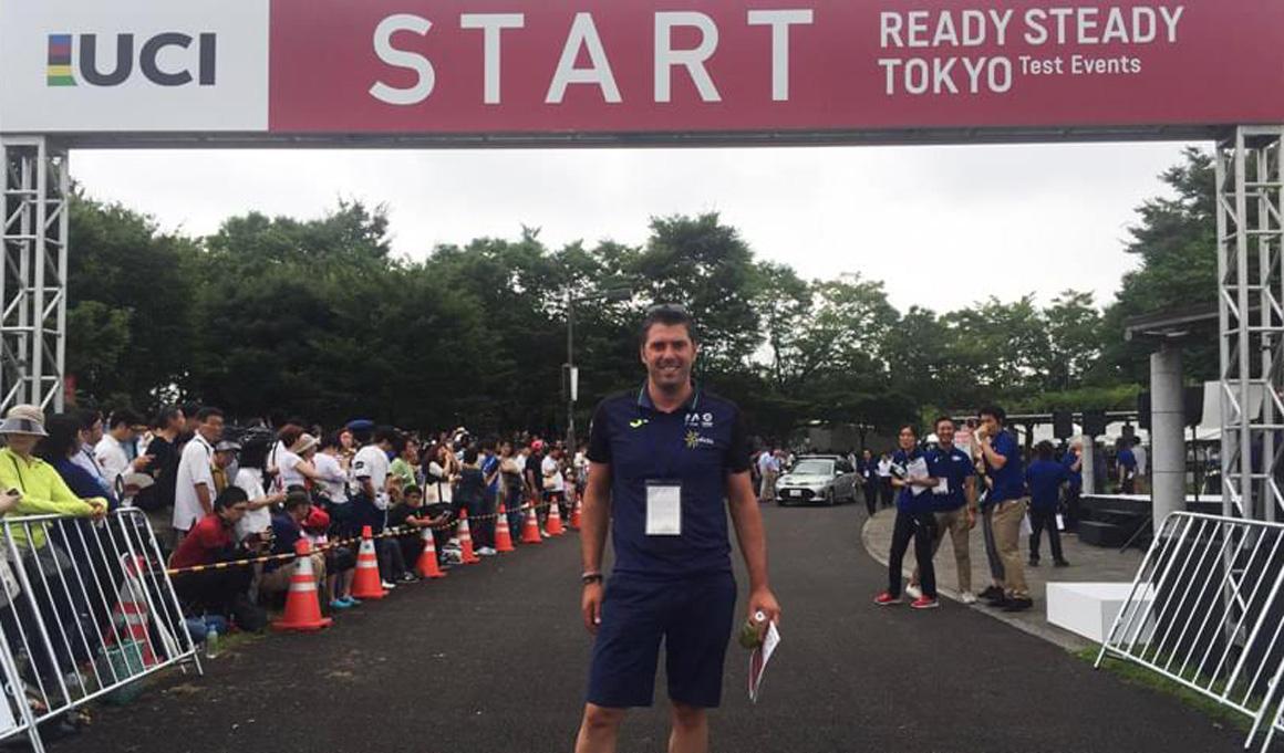 Pascual Momparler ya conoce el recorrido olímpico de Tokio 2020