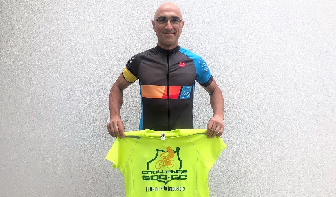 Pedro Rodríguez pedalea a favor de Pequeño Valiente