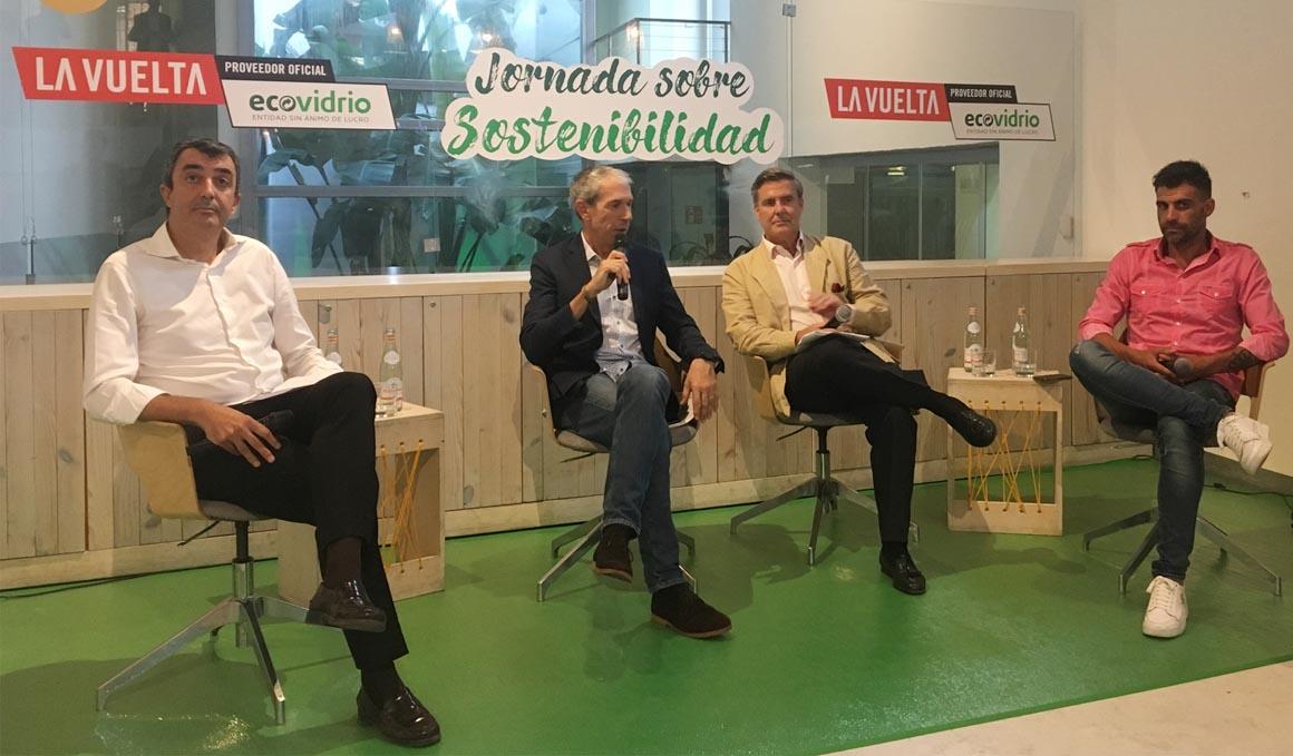 Ecovidrio, proveedor sostenible de La Vuelta por quinto año consecutivo