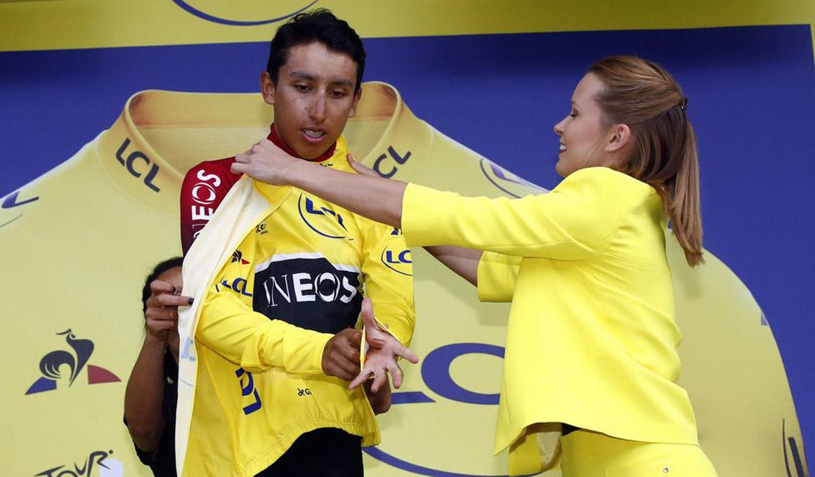 """Bernal:""""Van a tener que sufrir para quitarme el maillot amarillo"""""""