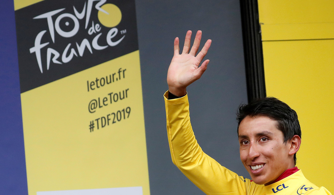 """Bernal: """"Si no me hubiera caído antes del Giro, no hubiera ganado el Tour"""""""