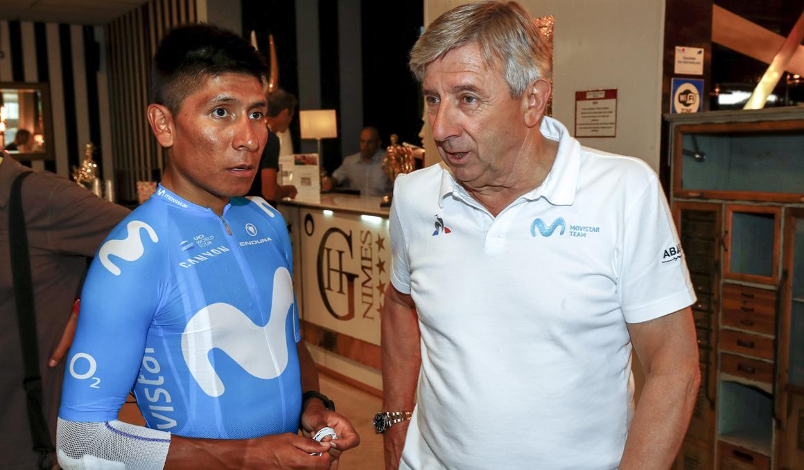 """Unzué: """"Landa ha estado con los mejores, a Quintana le faltó punch"""""""