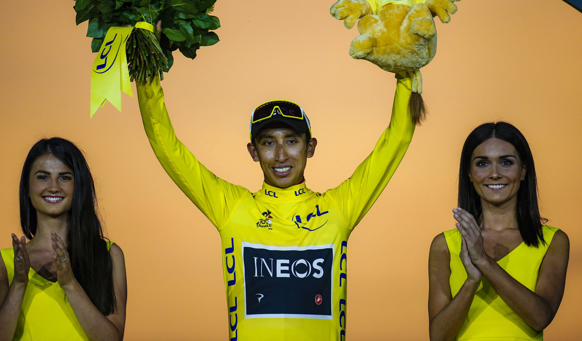 Egan Bernal, el ciclista de las alturas
