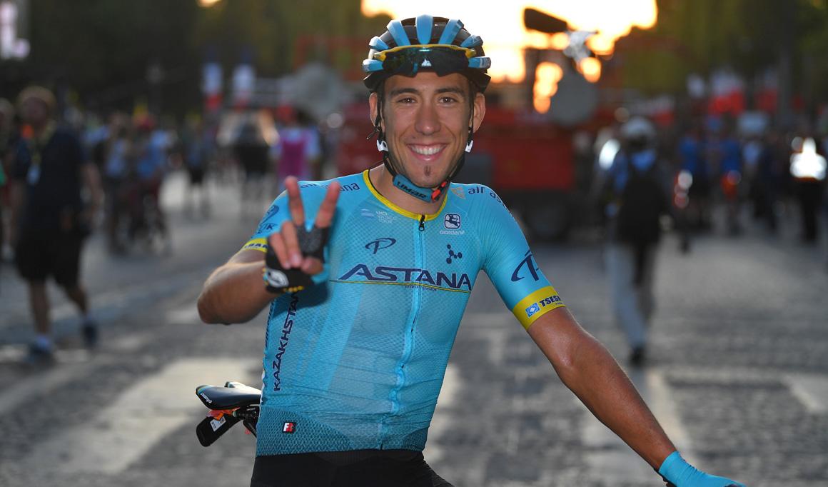 Omar Fraile renueva dos años con Astana
