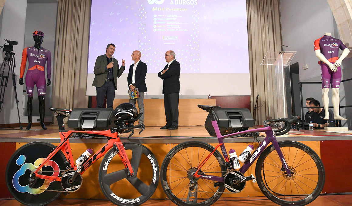 Presentada oficialmente la Vuelta a Burgos