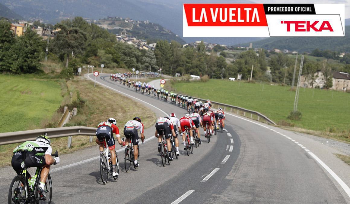 Teka, proveedor oficial de La Vuelta 2019