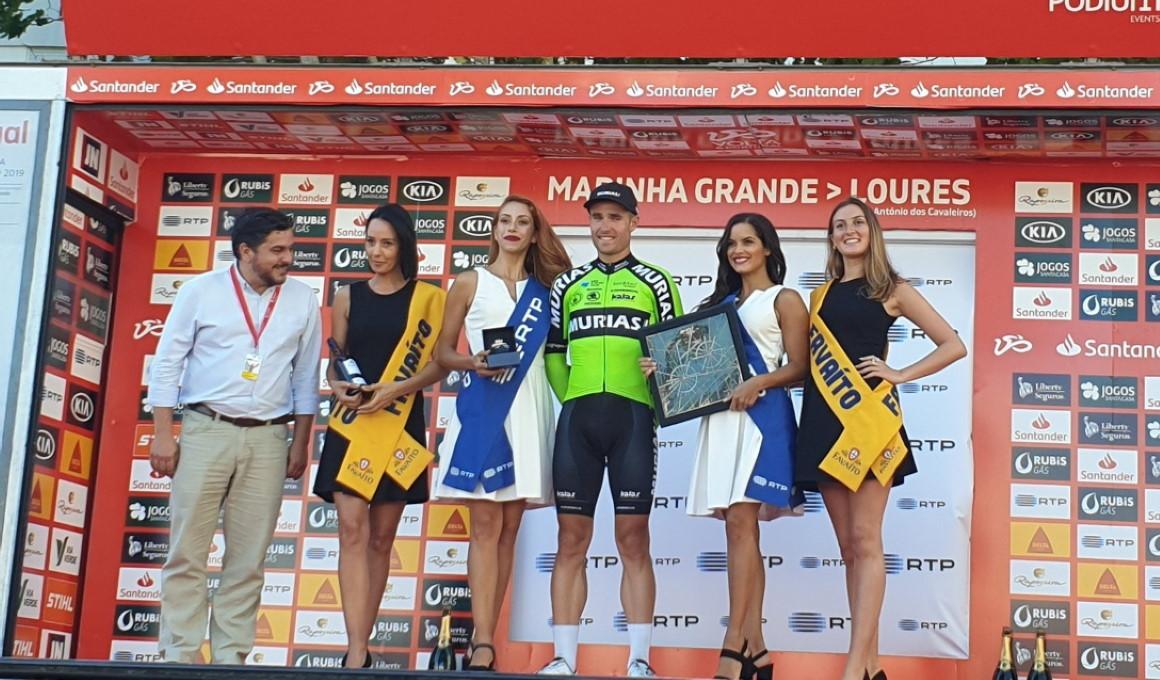 Victoria de Mikel Aristi y liderato para Veloso en la Vuelta a Portugal