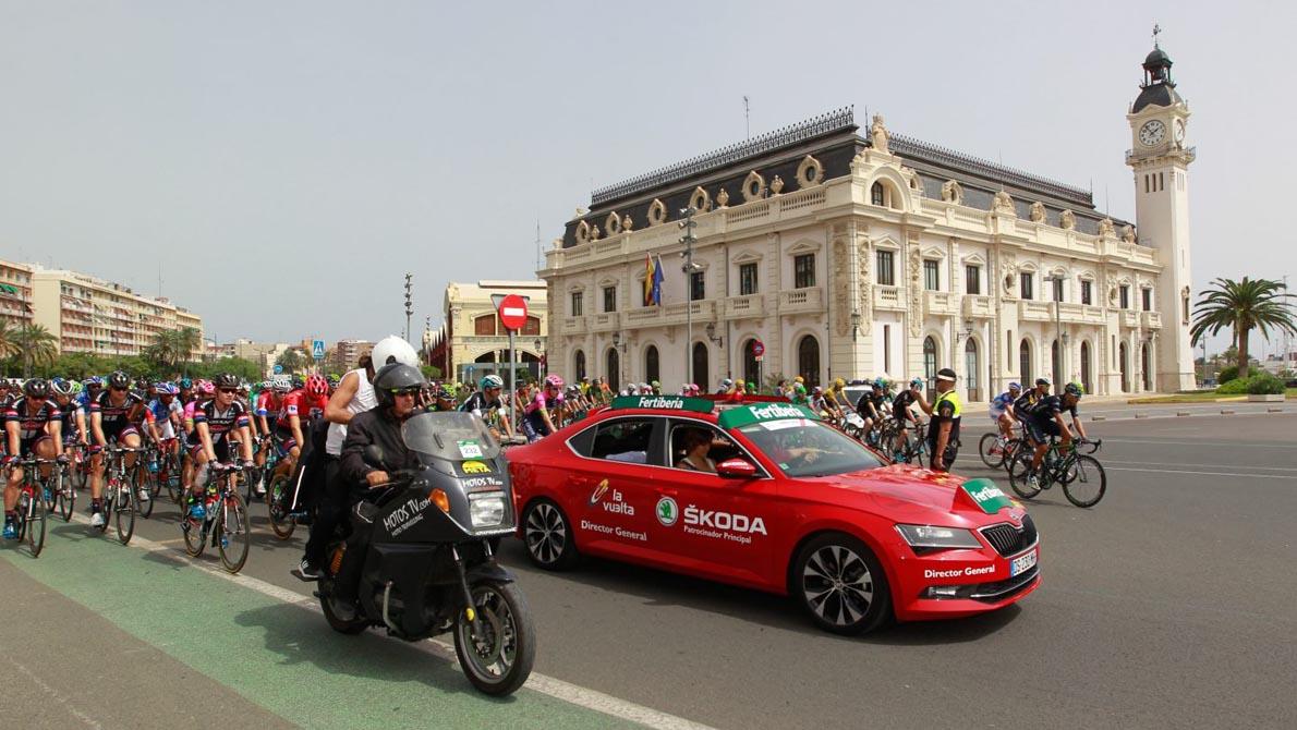 ŠKODA es ciclismo, es La Vuelta