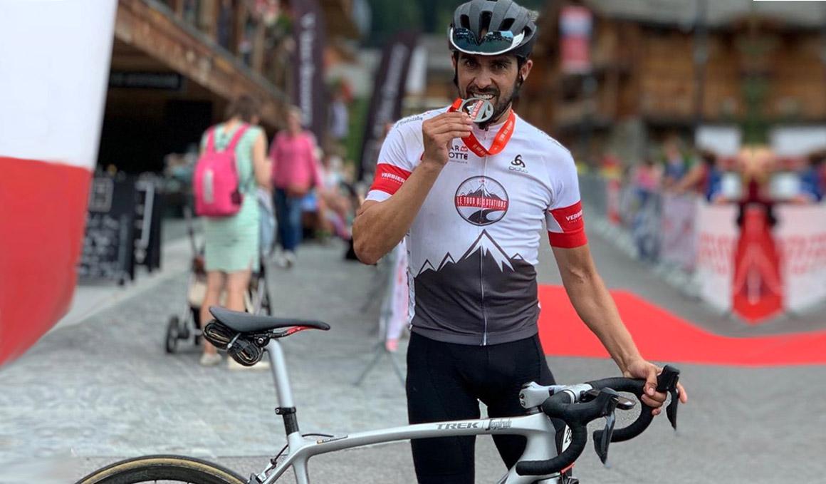 El récord de Contador