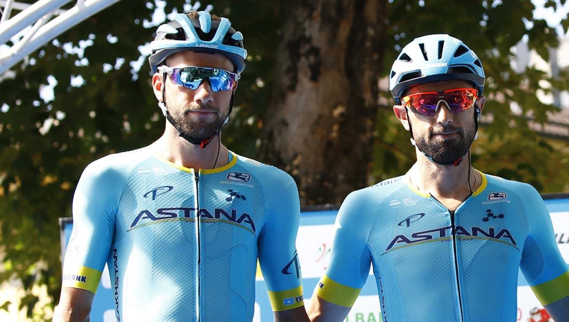 Dario Cataldo y Davide Villella  fichan por Movistar Team