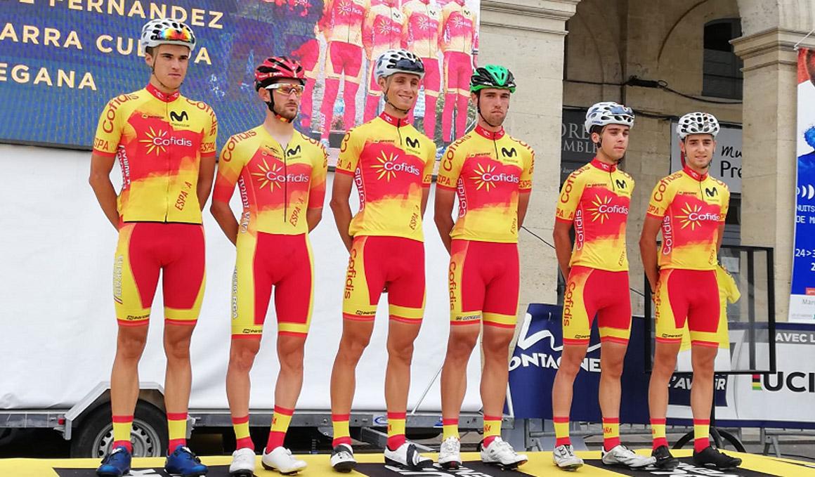 Desafortunado comienzo para la Selección Española en el Tour del Porvenir