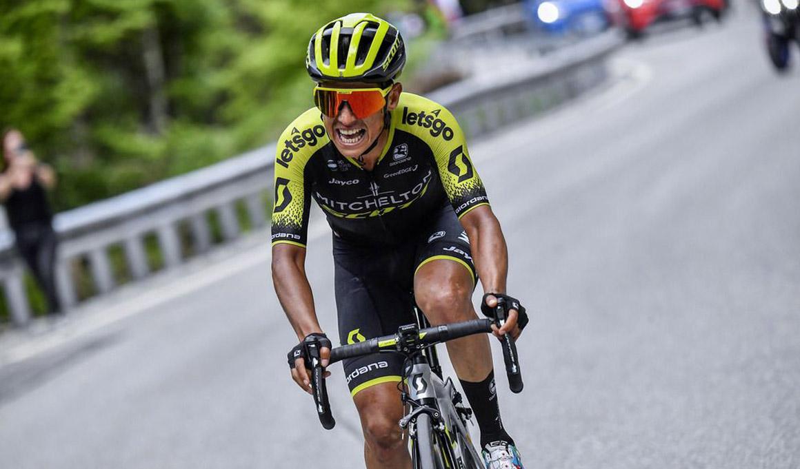 Esteban Chaves, líder del Mitchelton-Scott para La Vuelta