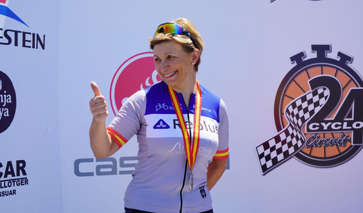 María José Silvestre, primera española en afrontar las 24 h de Le Mans de ciclismo