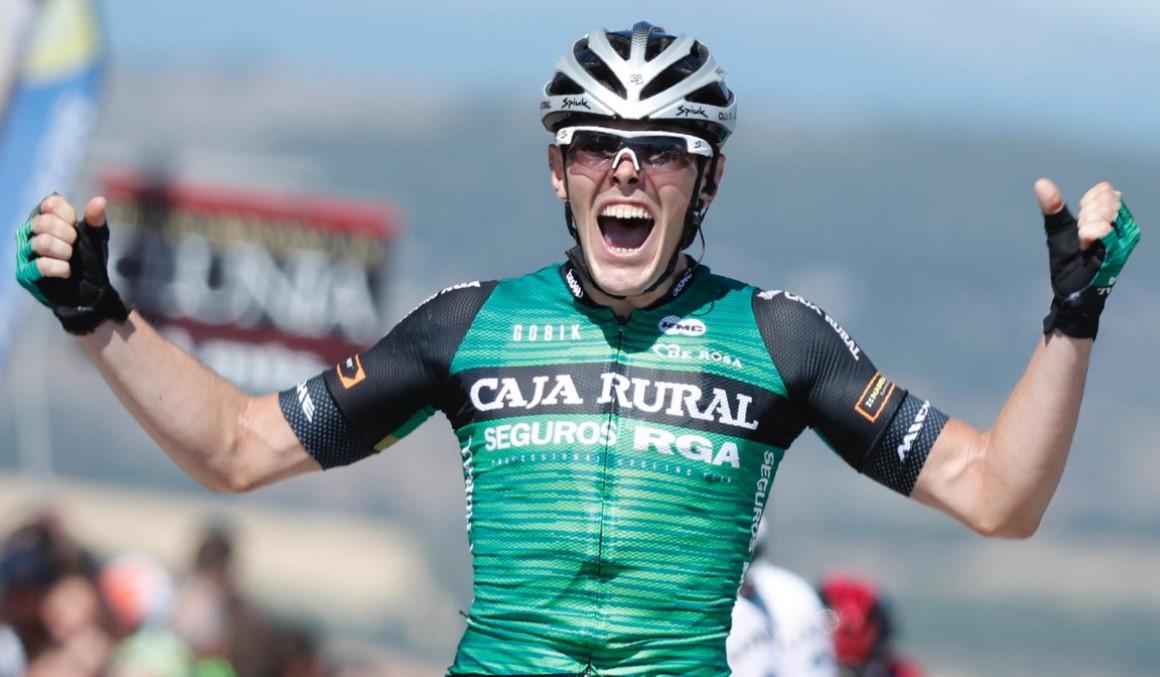Vuelta a Burgos: inapelable victoria de Aranburu en el exigente final de Clunia