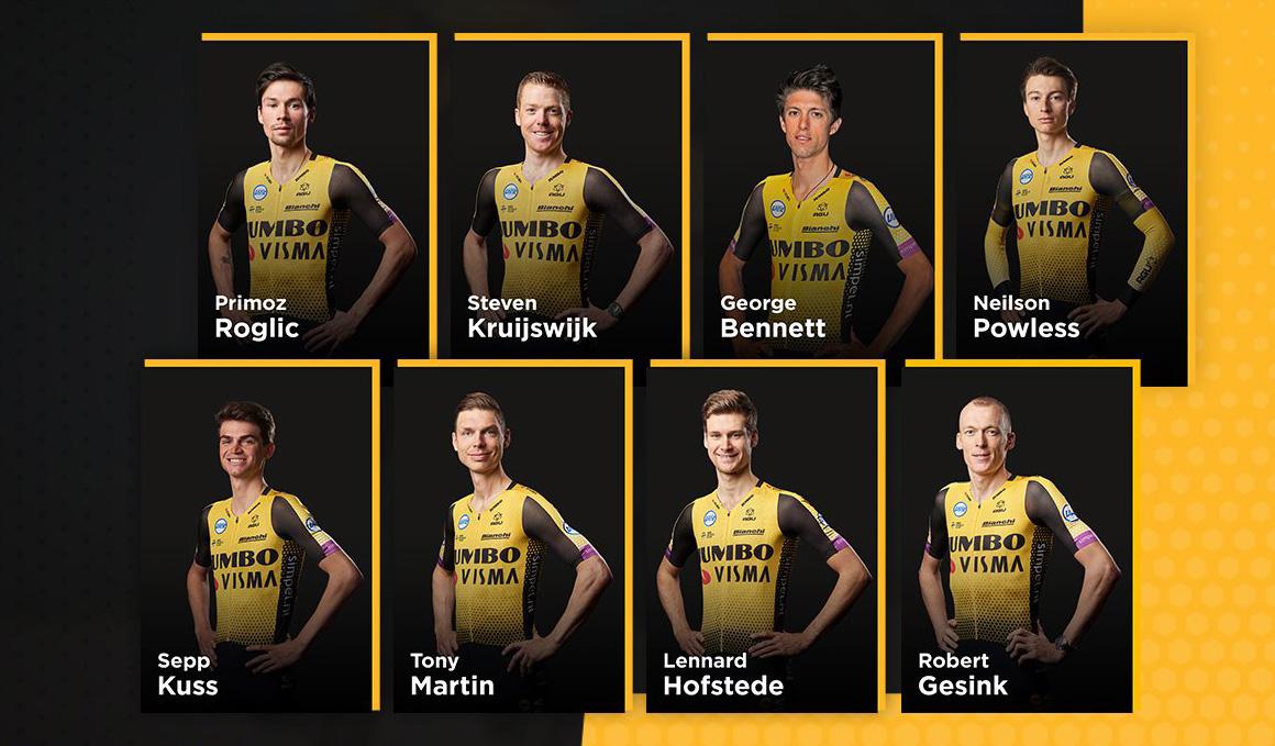 Jumbo-Visma, a por todas en La Vuelta
