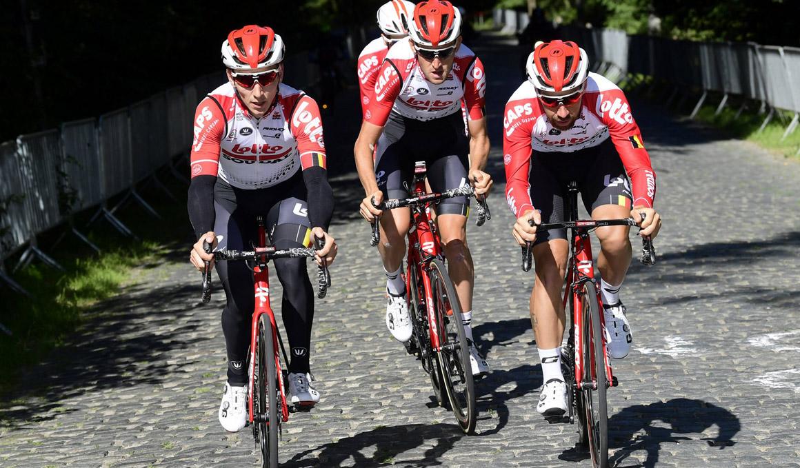 Lotto-Soudal, Trek-Segafredo y Sunweb presentan sus '8' para La Vuelta