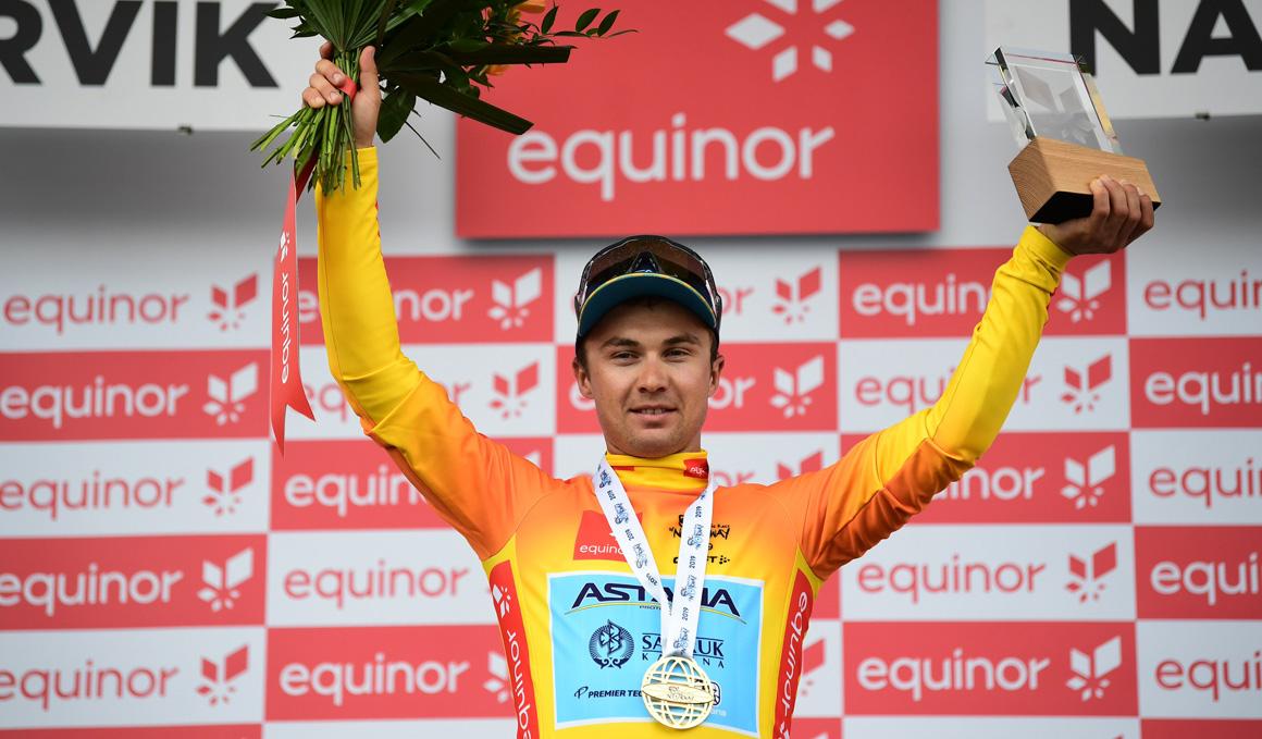 Alexey Lutsenko gana la Arctic Race de Noruega por un segundo