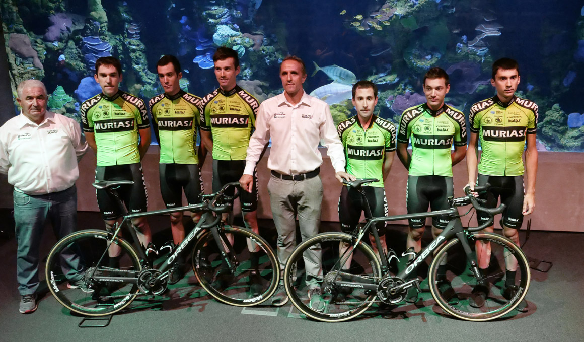 Euskadi-Murias, juventud y talento para La Vuelta 2019