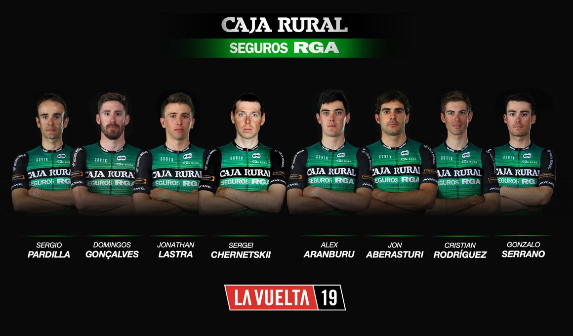 Caja Rural afronta su octava Vuelta consecutiva con un equipo sólido y compensado