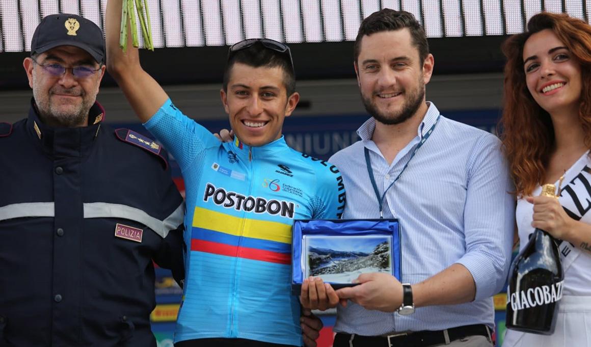 Talento joven de Colombia para el Movistar Team