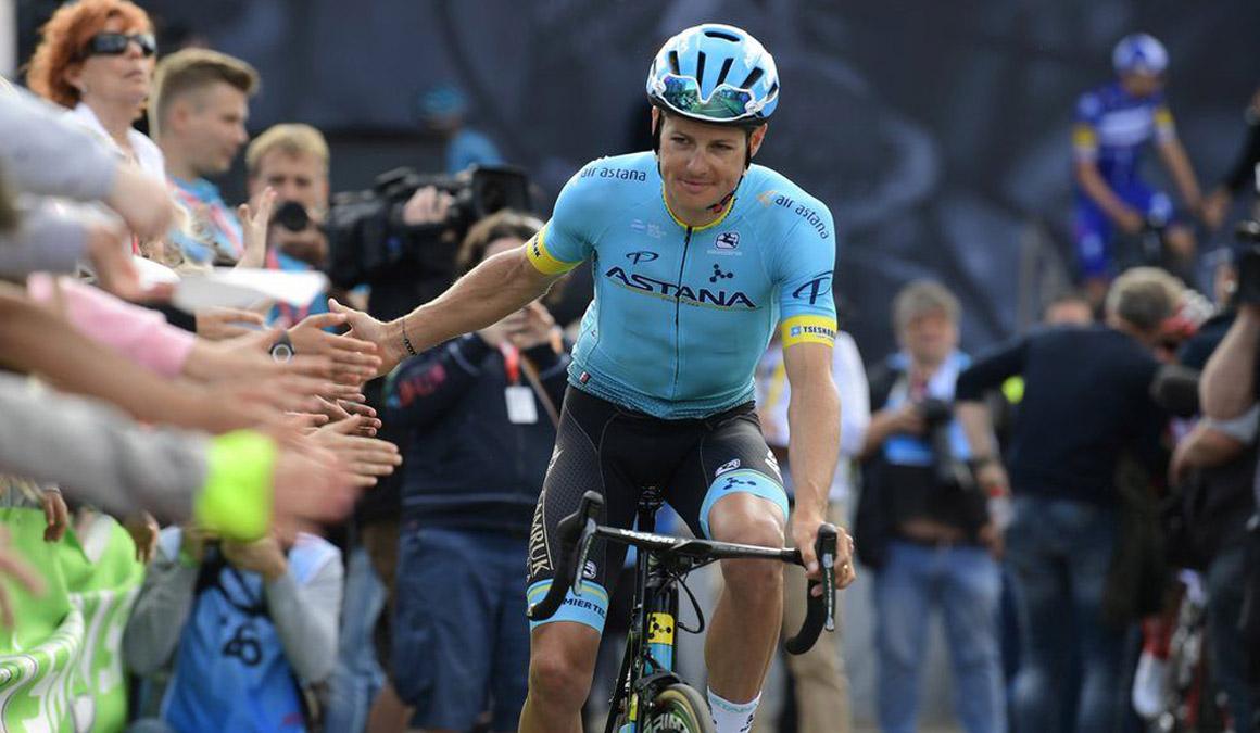 Jakob Fuglsang renueva con Astana hasta 2021