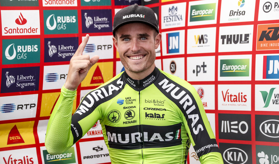 Mikel Aristi roza la victoria en el Tour de Limousin