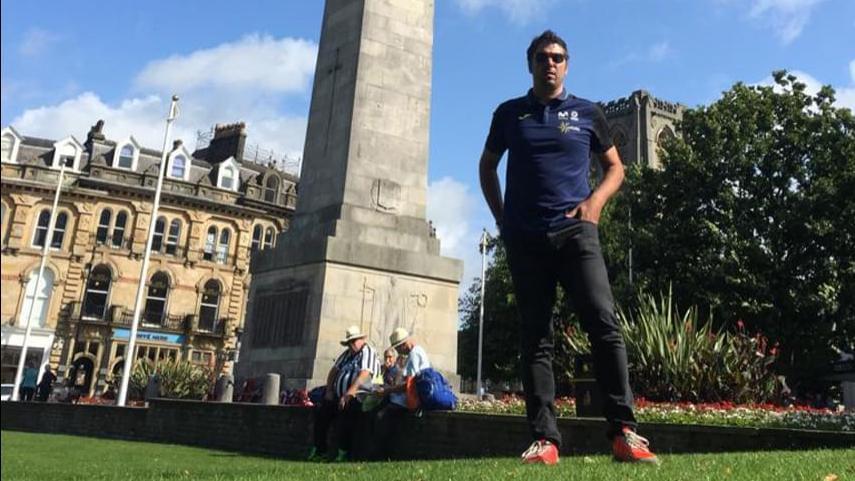 Momparler viaja hasta Yorkshire para reconocer los recorridos del Mundial de Carretera