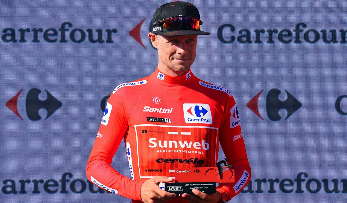 """Nicolas Roche: """"Espero mantener el maillot al menos un par de días"""""""