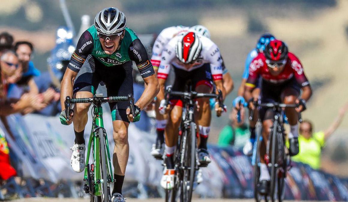 """Alex Aranburu: """"Espero redondear el año en La Vuelta"""""""