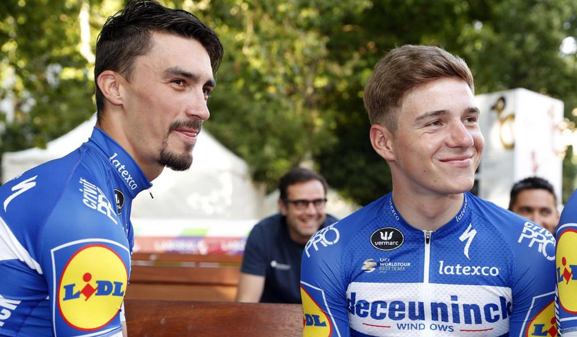 Alaphilippe, Evenepoel y Mas liderarán al Deceuninck en la Vuelta a Alemania