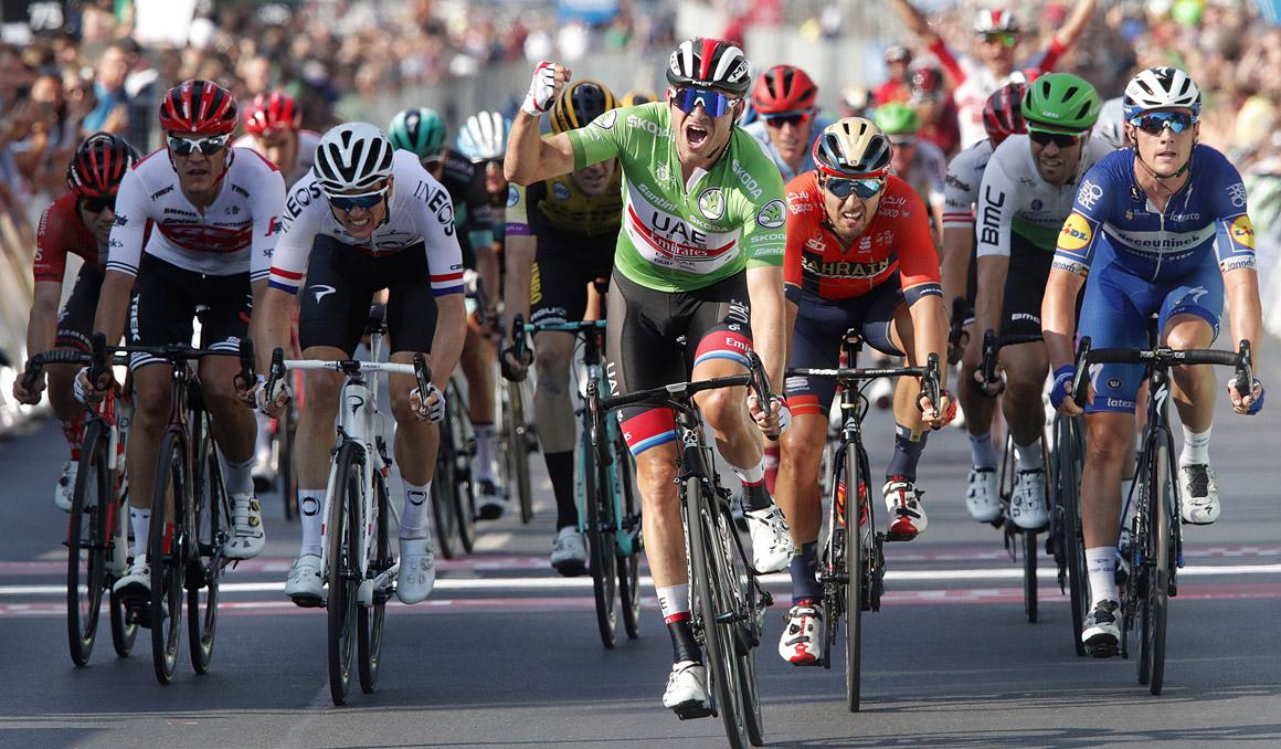 Alexander Kristoff, victoria y liderato en la Vuelta a Alemania
