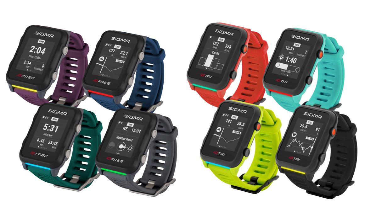 Sigma estrena sus relojes deportivos iD.TRI e iD.FREE