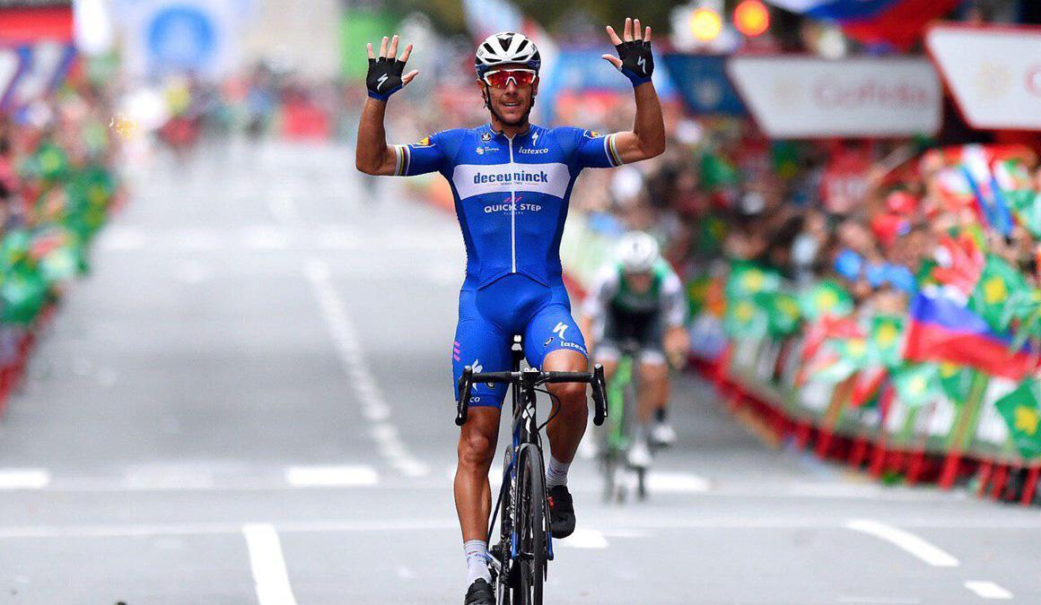 Philippe Gilbert, triunfo de clasicómano en Bilbao