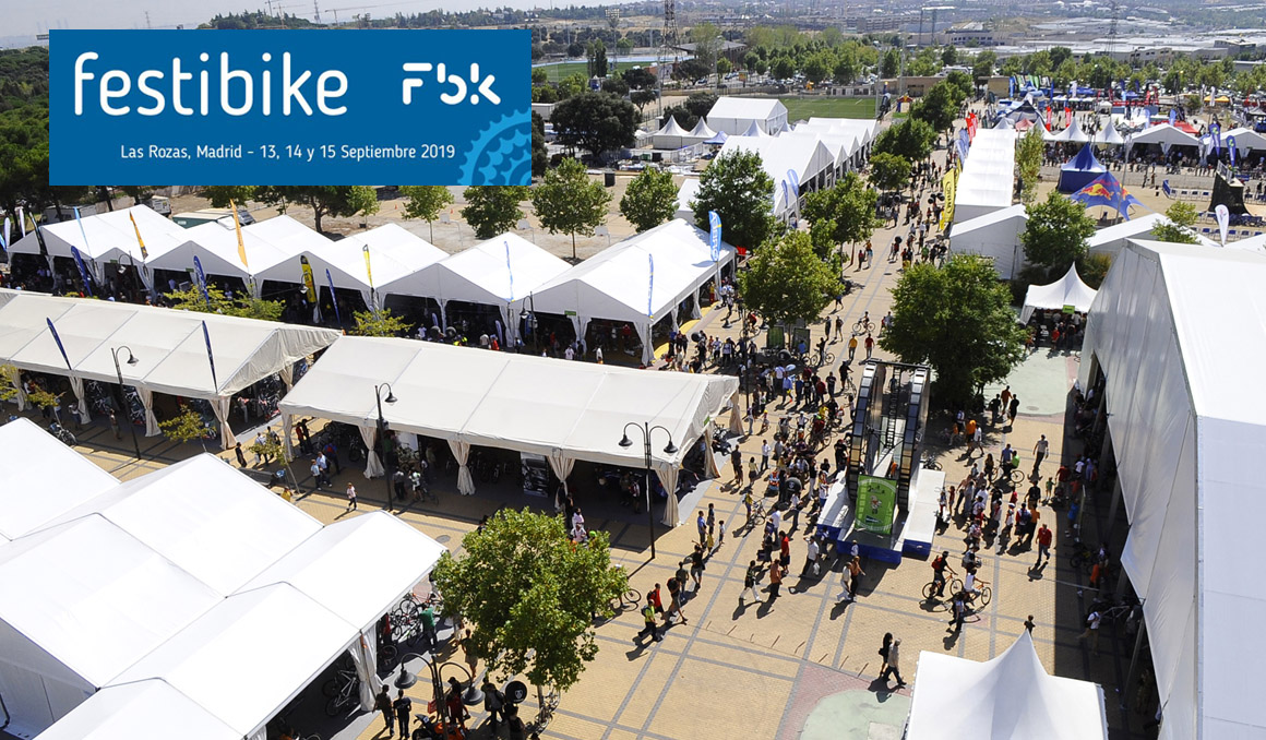 Todo a punto para Festibike, la Feria Internacional de la Bicicleta
