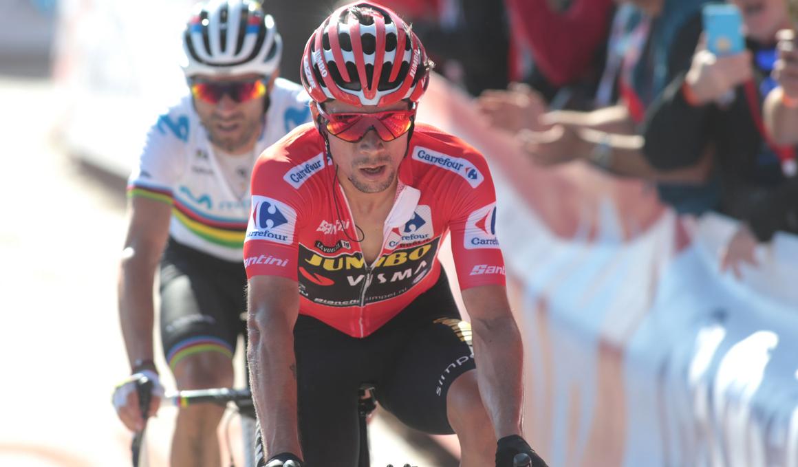 """Roglic: """"Cuando Valverde ataca, es bueno que pueda seguirlo"""""""