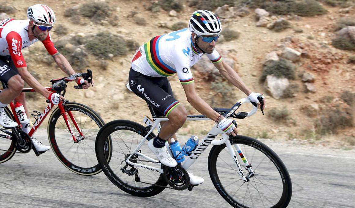 """Alejandro Valverde: """"Claro que se puede ganar esta Vuelta"""""""