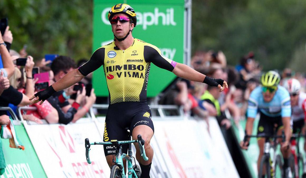 Tercera victoria para Groenewegen en el Tour de Gran Bretaña