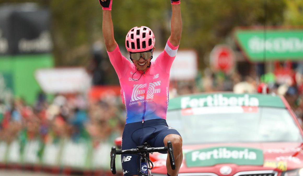 Higuita gana a lo grande y Supermán López acecha el podio