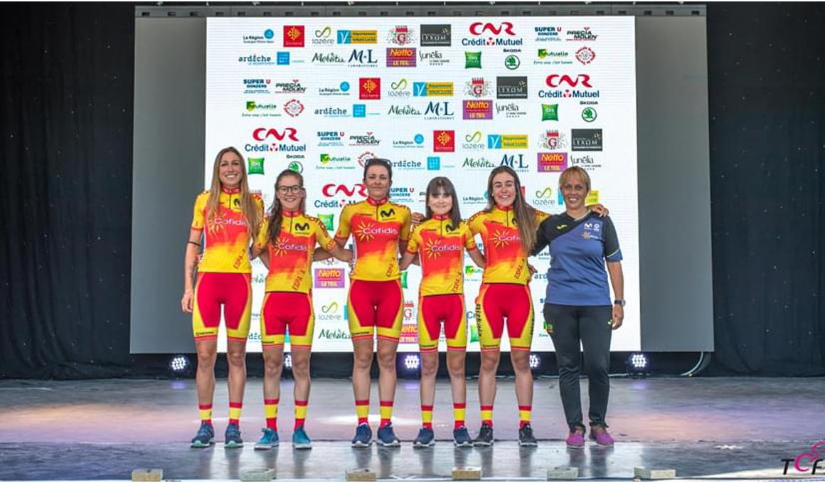4º puesto y liderato de la montaña para Mavi García en el Tour de Ardeche