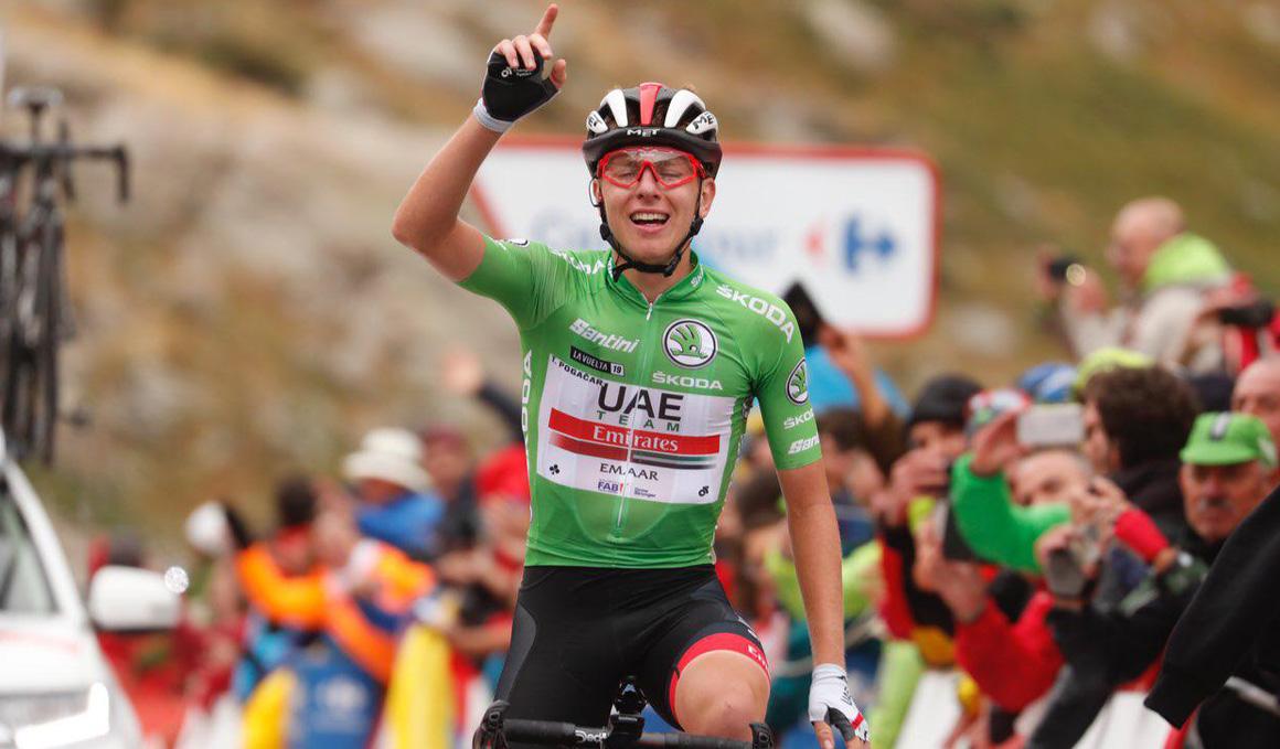 Tadej Pogacar conquista Gredos y se sube al podio final
