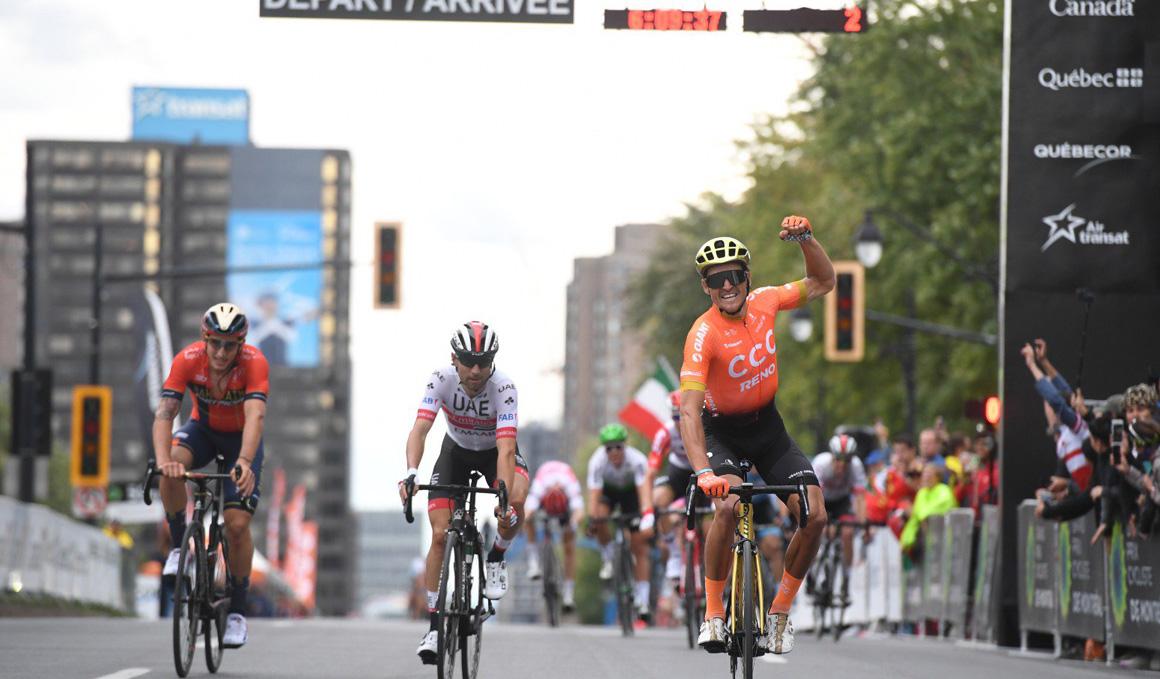 Van Avermaet gana por segunda vez el Grand Prix de Montreal