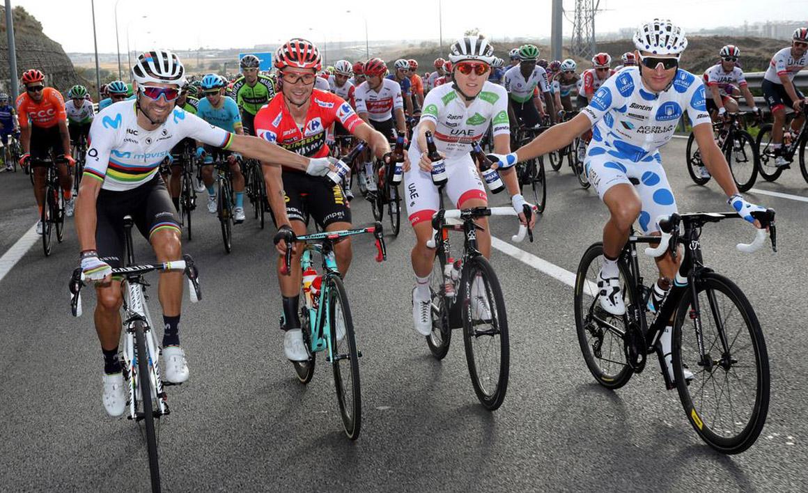 Las mejores imágenes del fin de fiesta de la Vuelta 2019
